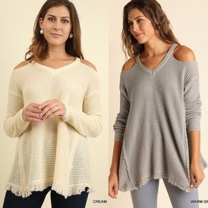 ELYSE Knit Sweater - CREAM